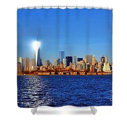 Lighthouse Manhattan Shower Curtain