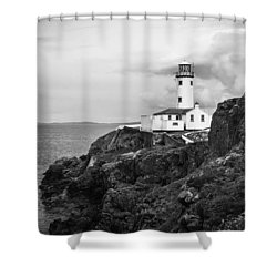 Lighthouse, Northern Ireland Shower Curtain