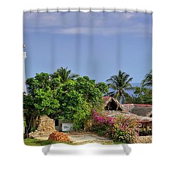 Lighthouse Santiago De Cuba Shower Curtain