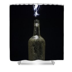 Lighting By The Quart - Light Painting Shower Curtain by Steven Milner