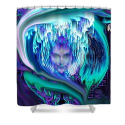 Lightning In A Jar Shower Curtain