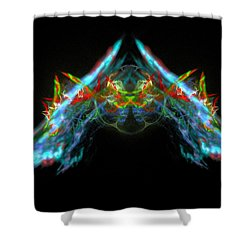 Lightning Storm Shower Curtain by Bruce Nutting
