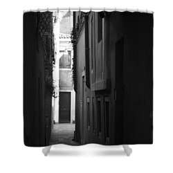 Light's Passage - Venice Shower Curtain by Lisa Parrish