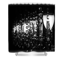Lightwork Shower Curtain by Clare Bevan