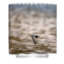 Like A Flying Jet.. Shower Curtain