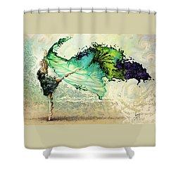 Like Air I Will Raise Shower Curtain