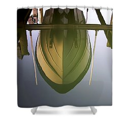 Like Glass Shower Curtain by Brian Wallace