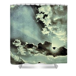 Like I Said... I Will Be Always Here For You... Shower Curtain by Marianna Mills