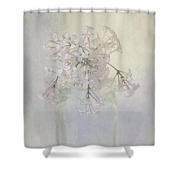 Shower Curtain featuring the photograph Lilac Flower by Annie Snel