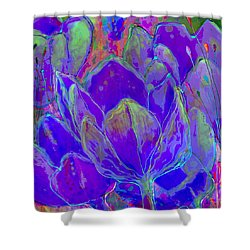 Lilac Fusion Shower Curtain