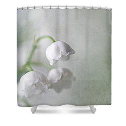 Lilies Of The Valley Shower Curtain