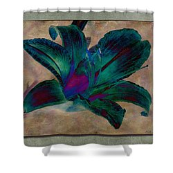 Lily 9 Shower Curtain