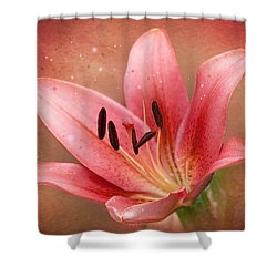 Shower Curtain featuring the photograph Lily by Ann Lauwers