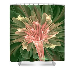 Lily In Bloom Shower Curtain