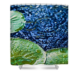 Lily Pads Shower Curtain by Debi Bishop