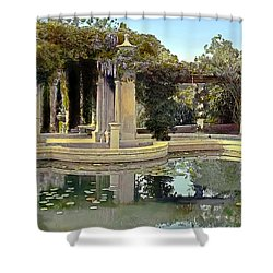 Lily Pond Shower Curtain by Terry Reynoldson