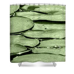 Lilypads Shower Curtain