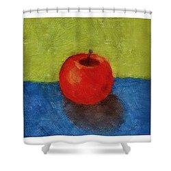 Lime Apple Lemon Shower Curtain by Michelle Calkins