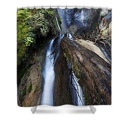 Limekiln Waterfall Shower Curtain by Jenna Szerlag