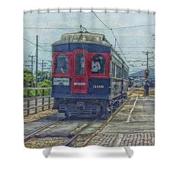 Limited 309 Shower Curtain by Thomas Woolworth