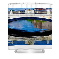 Sean Heuston Dublin Bridge Shower Curtain