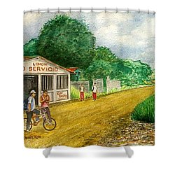 Limon Costa Rica Shower Curtain