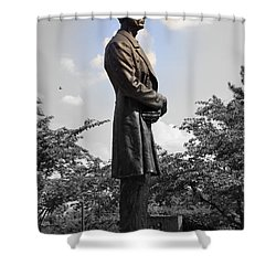 Lincoln At Lytle Park Shower Curtain