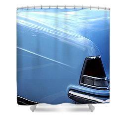 Lincoln Continental  Shower Curtain by Barbara Snyder