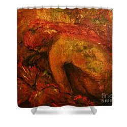 Linda Harvey Shower Curtain