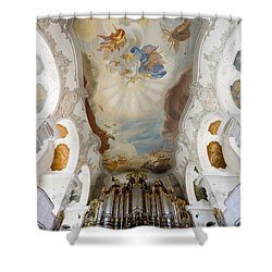 Lindau Organ And Ceiling Shower Curtain