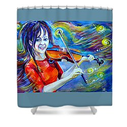 Lindsey Stirling Magic Shower Curtain