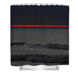 Line Of Fire Shower Curtain