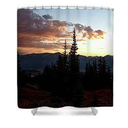 Linger Shower Curtain by Jeremy Rhoades