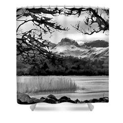 Lingmoor Fell Shower Curtain