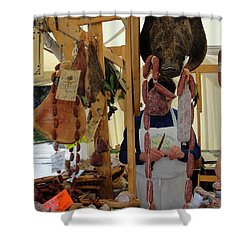Shower Curtain featuring the photograph Links by Natalie Ortiz