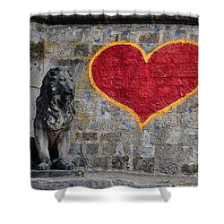 Lionheart Shower Curtain