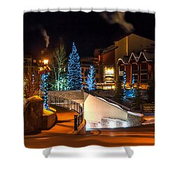 Lions Head Village Vail Colorado Shower Curtain
