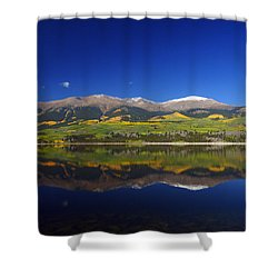 Liquid Mirror Shower Curtain