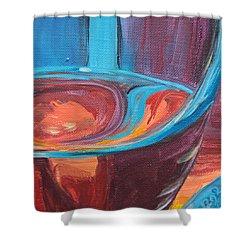 Liquid Sway Shower Curtain