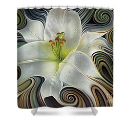 Lirio Dinamico Shower Curtain