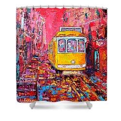 Lisbon Impression Shower Curtain by Ana Maria Edulescu