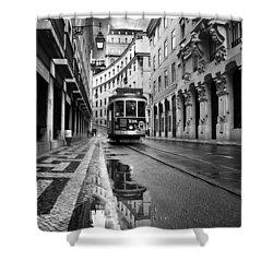 Lisbon Shower Curtain by Jorge Maia