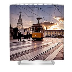 Lisbon Light Shower Curtain