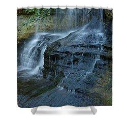 Listen Shower Curtain by Randy Pollard