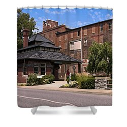 Lititz Pennsylvania Shower Curtain by Sally Weigand