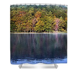 Little Beaver Lake Shower Curtain