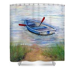 Little Boat Shower Curtain