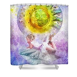 Little Dancer Shower Curtain by Mo T