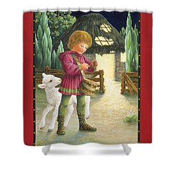Little Drummer Boy Shower Curtain