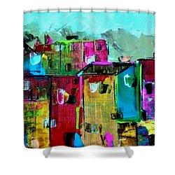 Little Haiti Shower Curtain